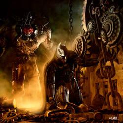BATMAN'S LAST MOMENTS by ISIKOL