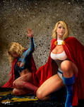POWERGIRL TO THE RESCUE