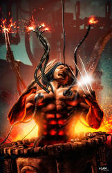 WOLVERINE_PROJECT X by ISIKOL