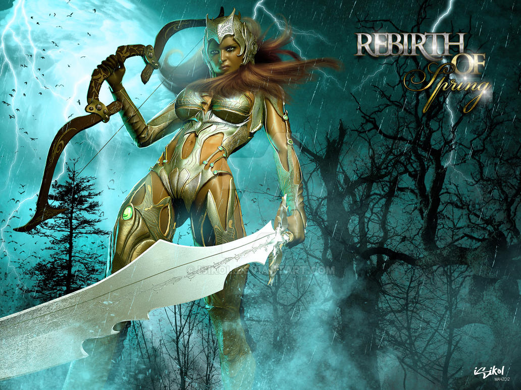 Rebirth of Spring - PROMO IMAGE by isikol