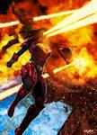 Brainiac's Final Assault - commission