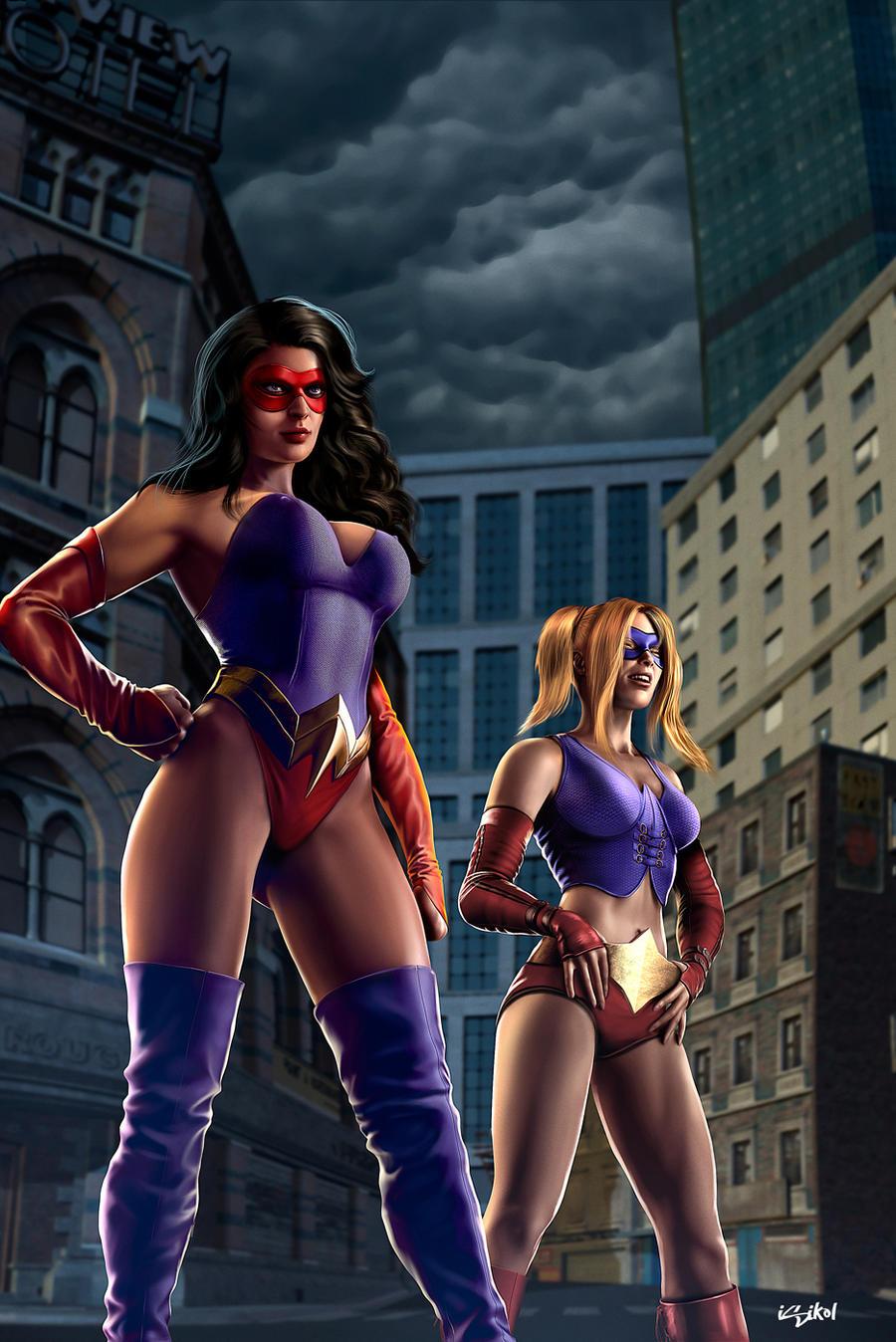 MS AMAZING - Vigilante Justice by isikol