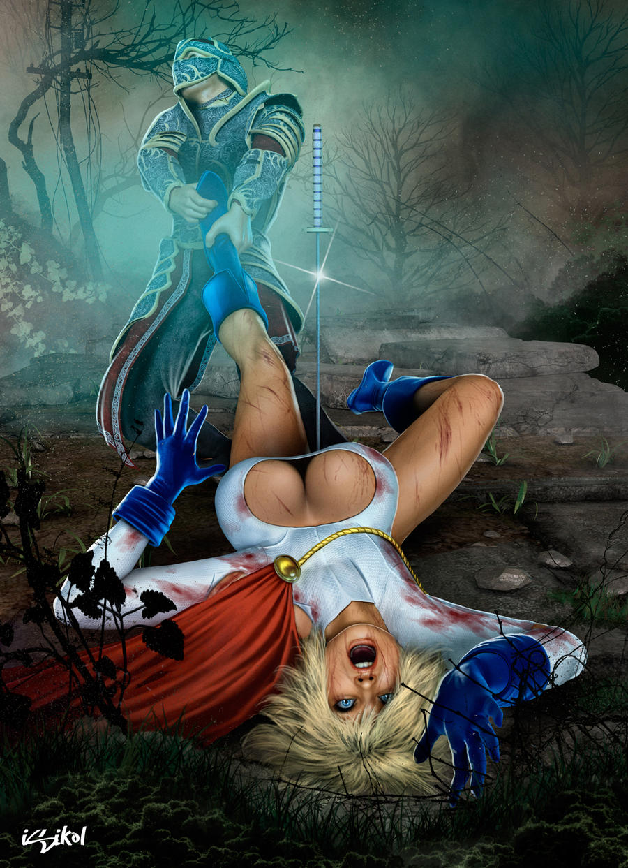 POWERGIRL in her deepest TROUBLE by isikol