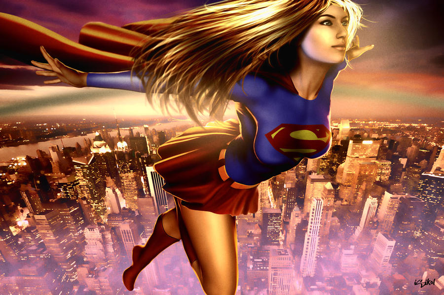 Supergirl 2014 by isikol