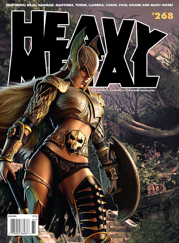 Heavy Metal 268 Cover by ISIKOL