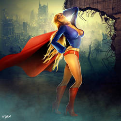 EVE OF DESTRUCTION - SUPERGIRL