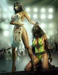 PHANTOM LADY IN TROUBLE by ISIKOL