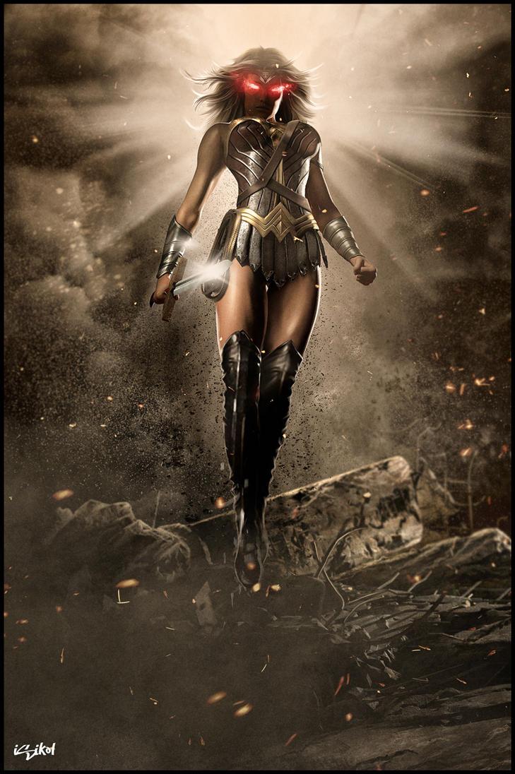 Wonder Woman IS Supergirl!! by isikol