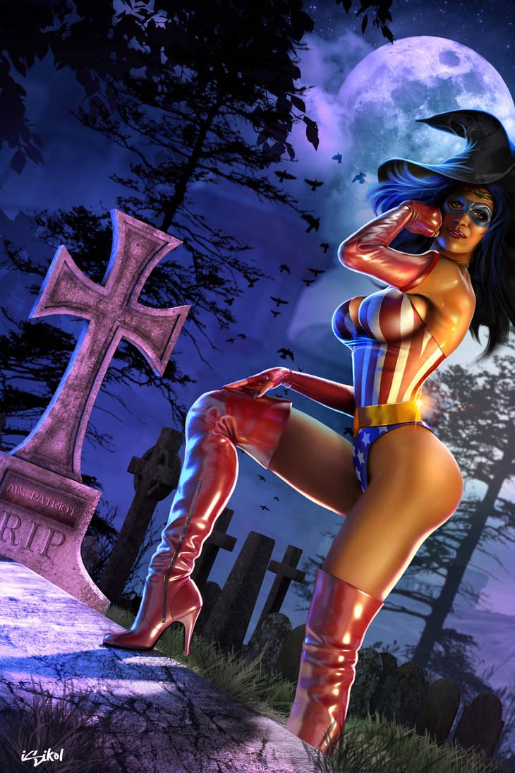 Ms Patriot: Wicked Witch Switch by ISIKOL