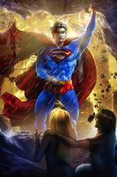 Remake of Superman - Savior by ISIKOL