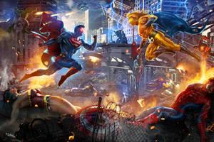 SUPERMAN VS SENTRY
