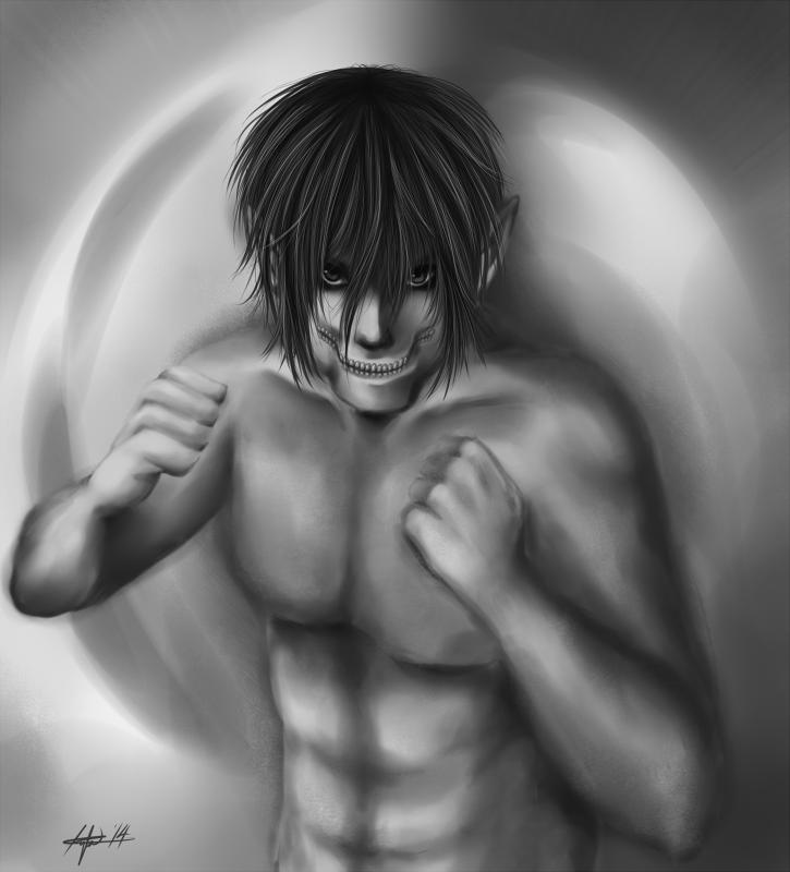 Titan Eren by KanaBanana