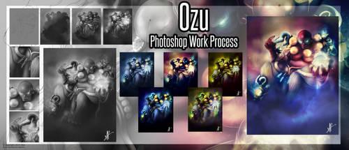 Ozu, work process by Sirulys