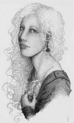 Cersei's portrait by Nawia
