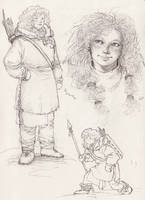 Ygritte - sketches