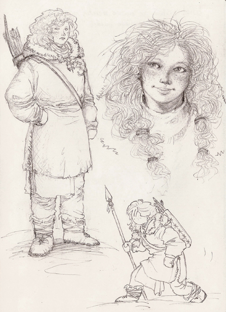 Ygritte - sketches by Nawia