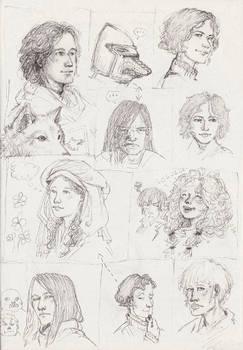 ASoIaF doodles
