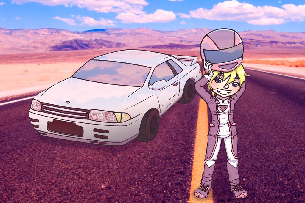 Race Queen by Rainbow-Grenade