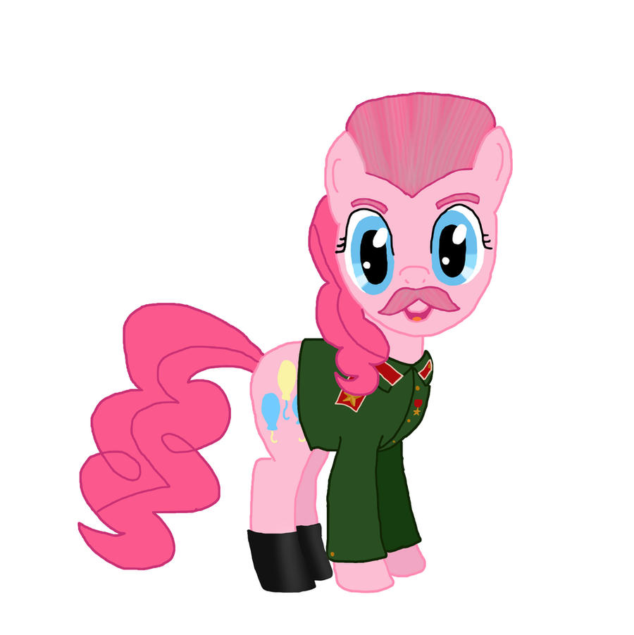 Stalin Pinkie Pie by Birdco