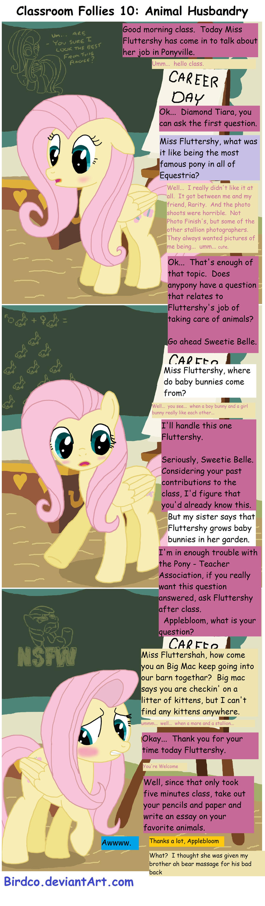 Classroom Follies 10 by Birdco