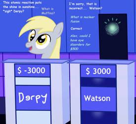 I Derped on Jeopardy, baby. by Birdco