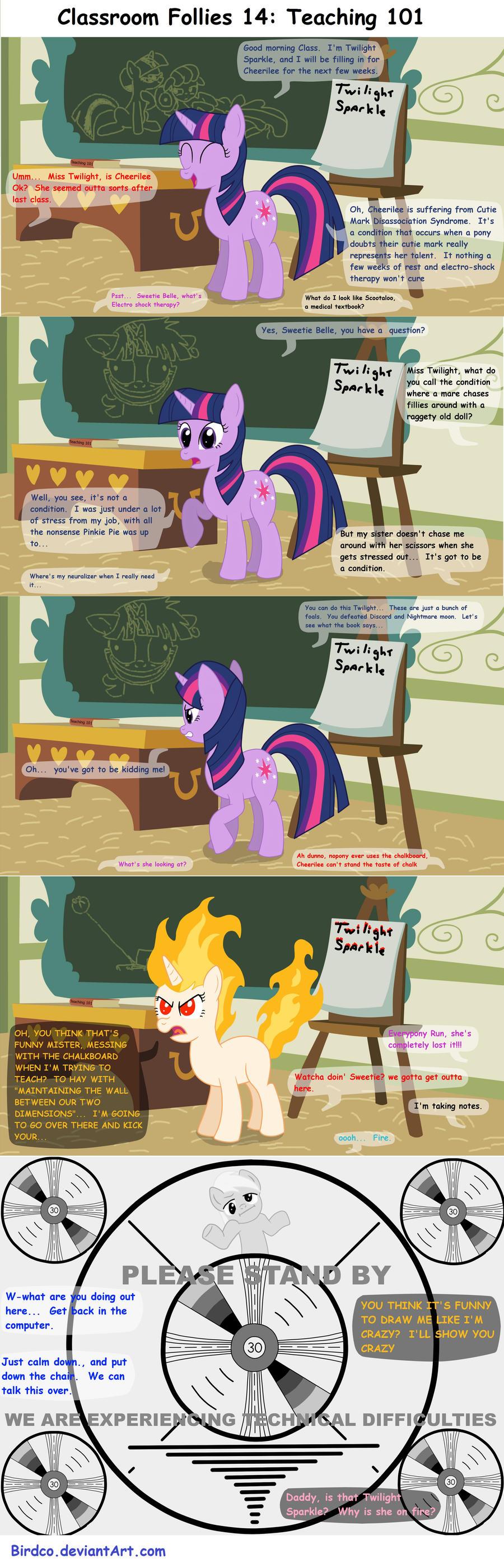 Classroom Follies 14 by Birdco