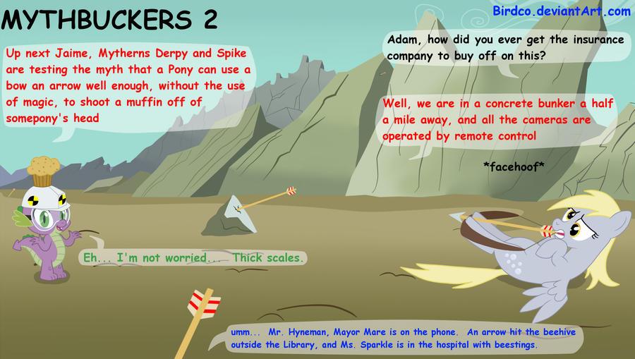 Mythbuckers 2 by Birdco