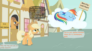 Rainbow Dash Protests by Birdco