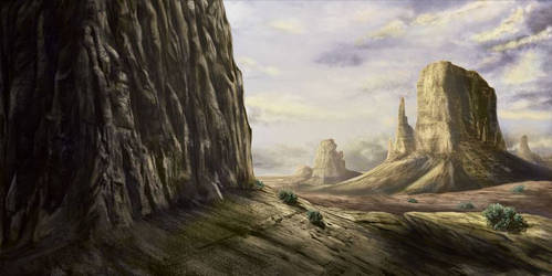 Desert by Masamune-Forged