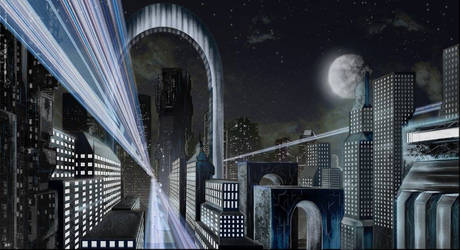 Future City by Masamune-Forged