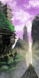 Mountain Temples by Masamune-Forged
