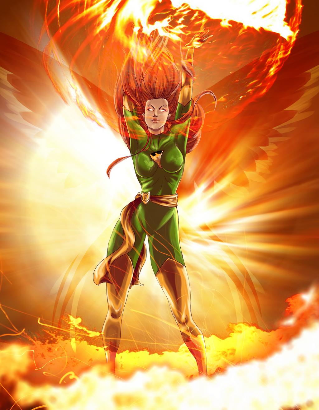 Phoenix - Jean Grey by Kachumi