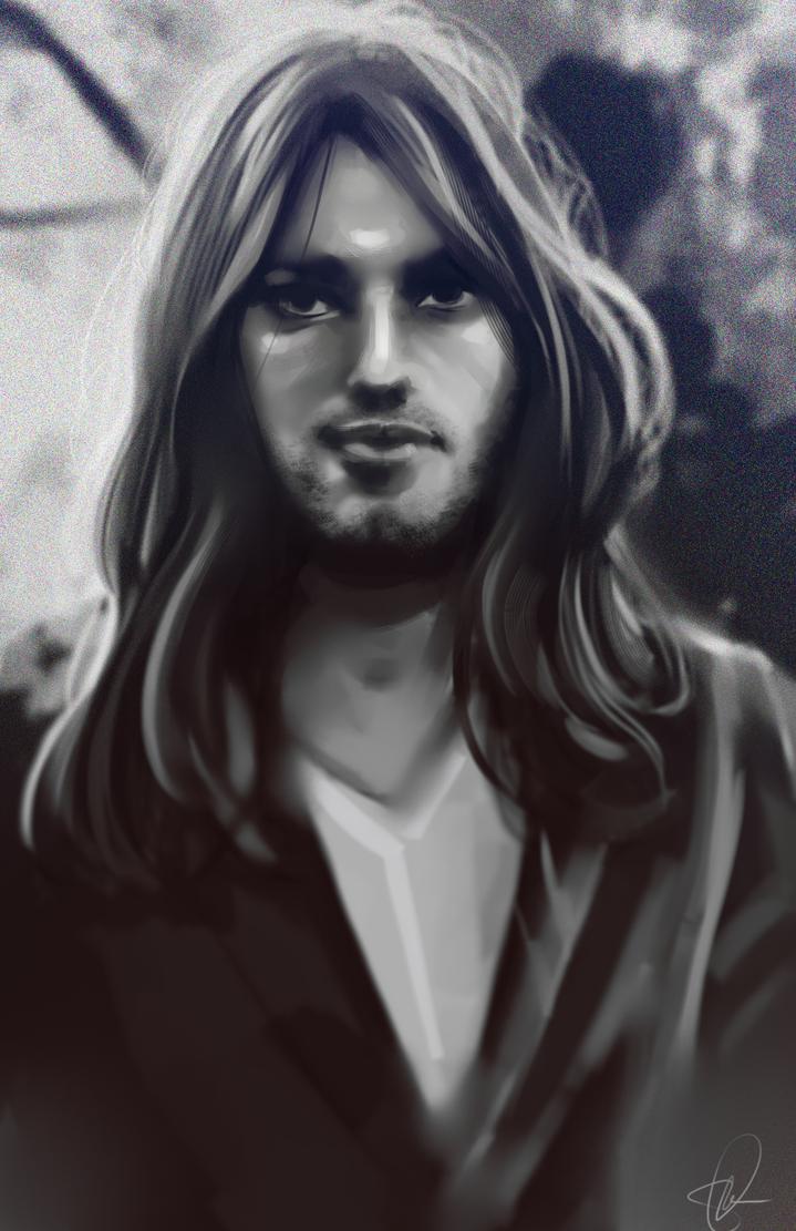 David Gilmour Photostudy by Kachumi