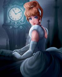 Disney Princess/Heroine - Cinderella by art-by-Shiela