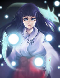 Inuyasha - Kikyo and her Soul Catchers by LalaKachu