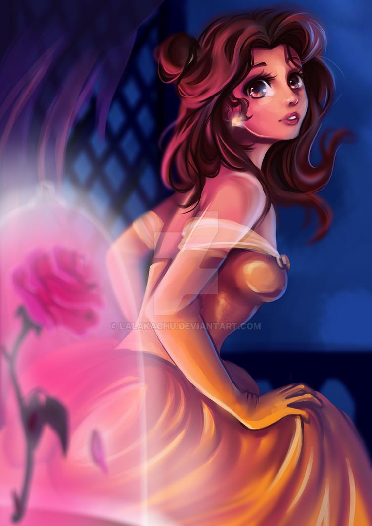 Disney Princess/Heroine - Belle by Kachumi