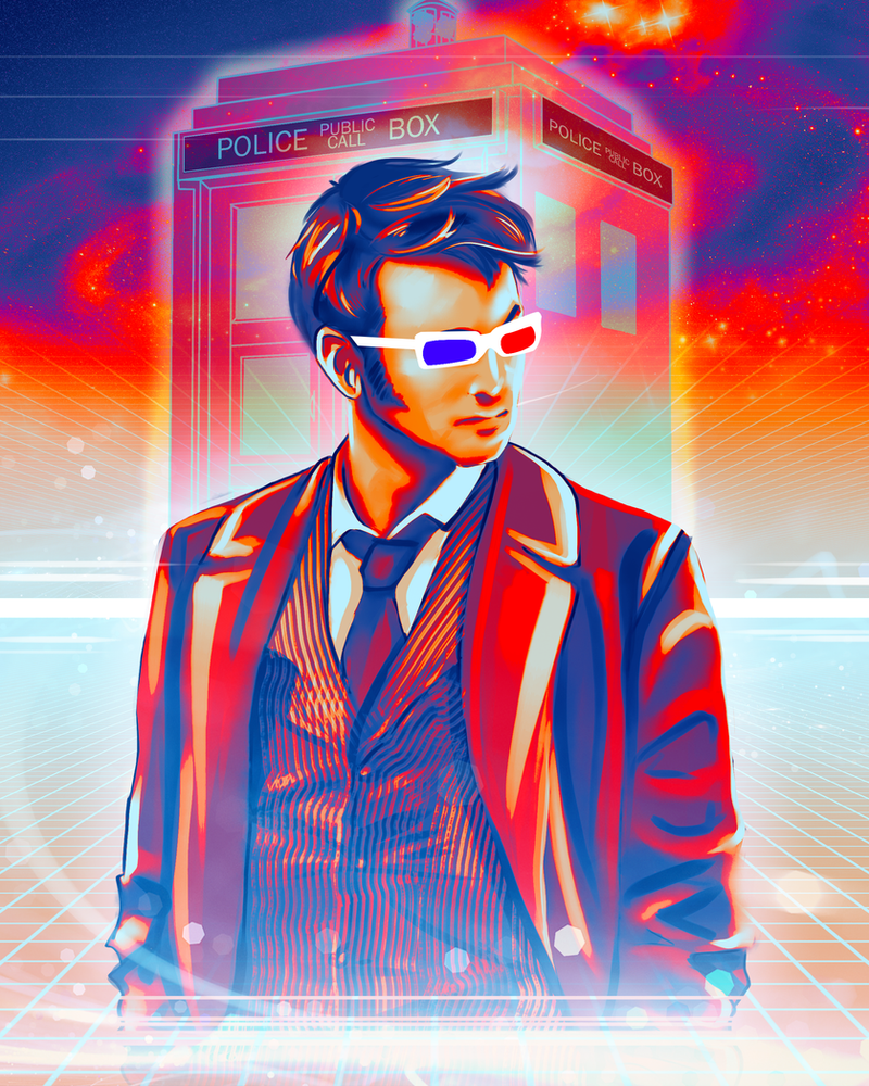 Doctor Who - David Tennant by Kachumi