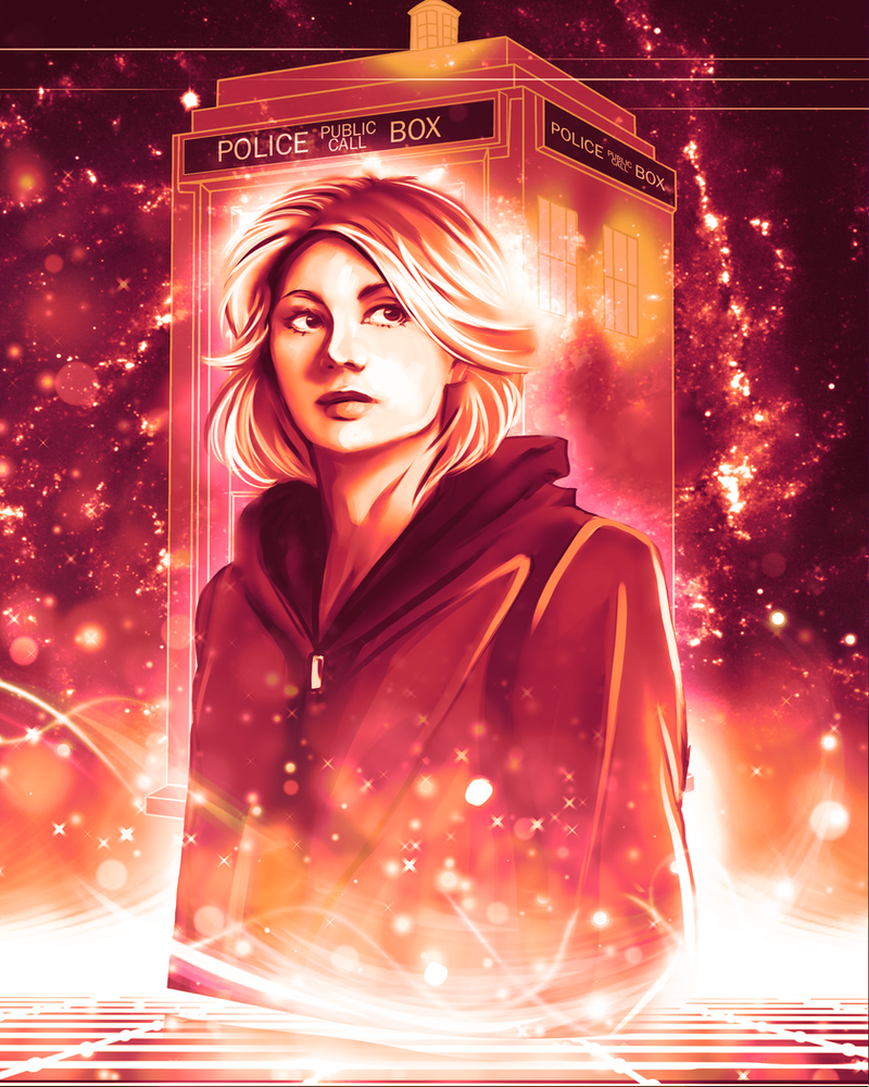 Doctor Who - Jodie Whittaker by Kachumi