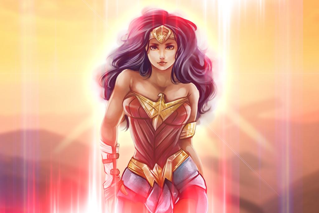 Wonder Woman Wallpaper by Kachumi