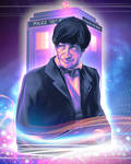 Doctor Who - Patrick Troughton by art-by-Shiela