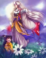 Inuyasha - Sesshomaru by LalaKachu