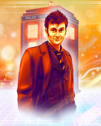 Doctor Who - David Tennant (Version 2) by LalaKachu