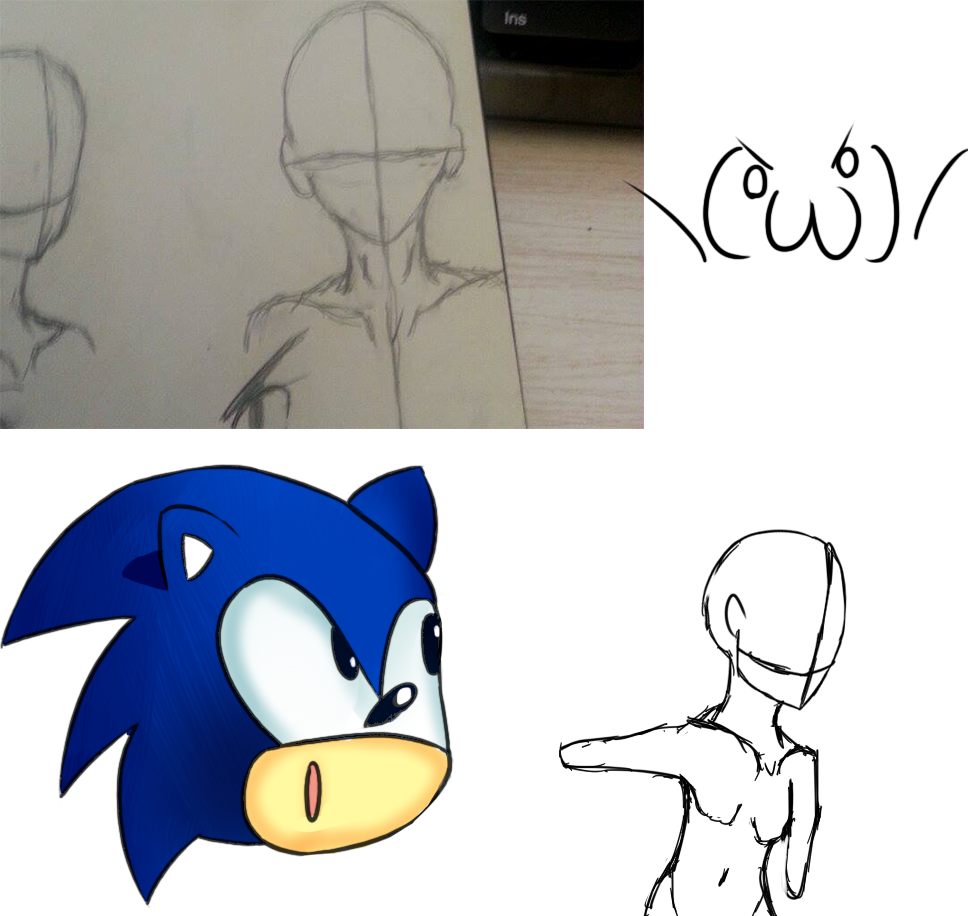 UNFINISHED BODIES AND A SONIC????!!! by Mistarooni