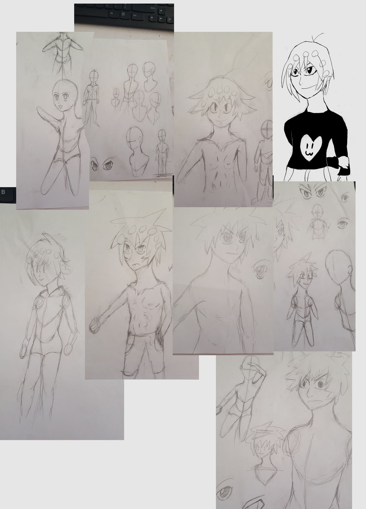 Traditional Drawing Dump by Mistarooni