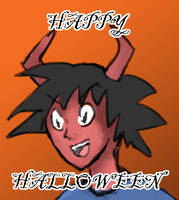 Happy Halloween my dudes by Mistarooni
