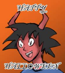 Happy Halloween my dudes by Mistarooni