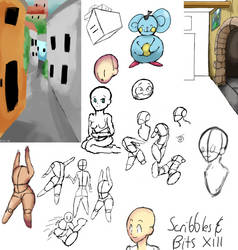Scribbles and Bits XIII