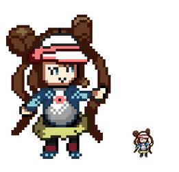 Rosa Pixel art!