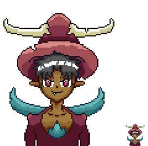 Meguwitch Pixel Portrait (For Elder Ridge Academy)