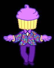 World's fanciest cupcake by hugsohugs